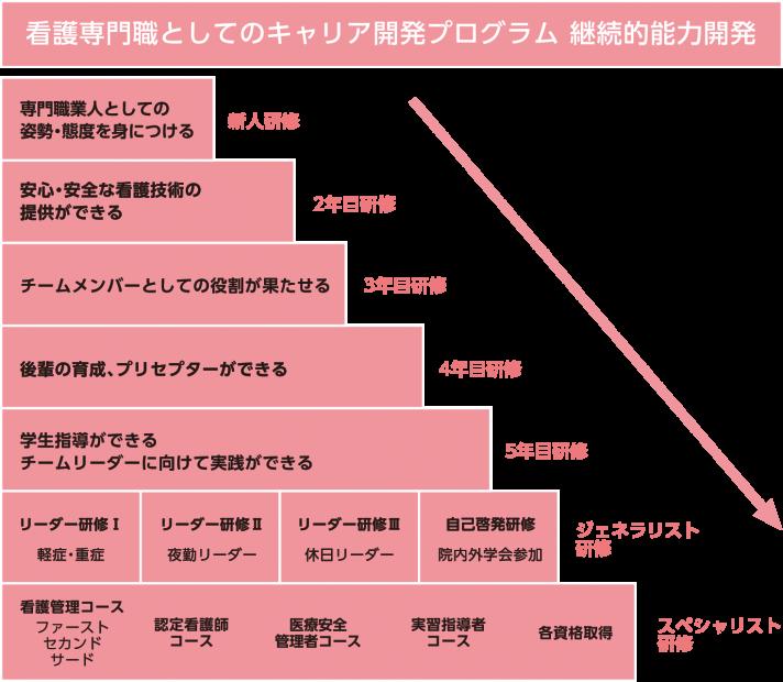 キャリア開発プログラム図